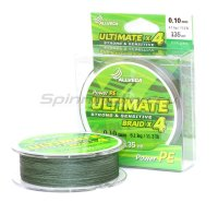 Шнур Ultimate 135м 0,10мм dark green