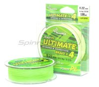 Шнур Ultimate 135м 0,10мм light green