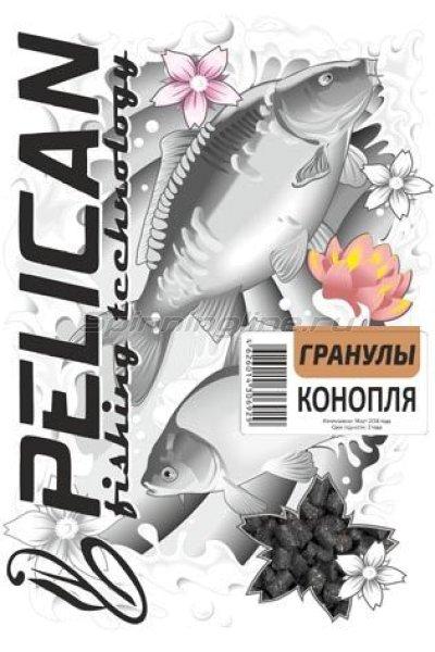 Прикормка Pelican Конопля гранулы -  1