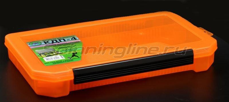 Коробка Три Кита КДП-4 оранжевая - фотография 1