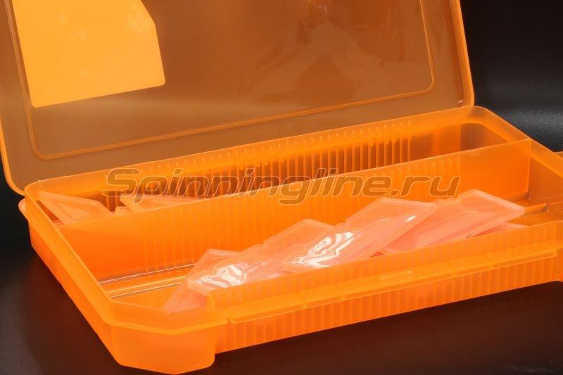 Коробка Три Кита КДП-4 оранжевая - фотография 2