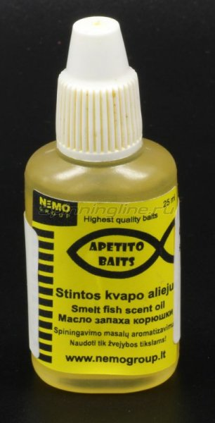 Аттрактант Apetito Baits Crawfish scent oil 25мл -  1
