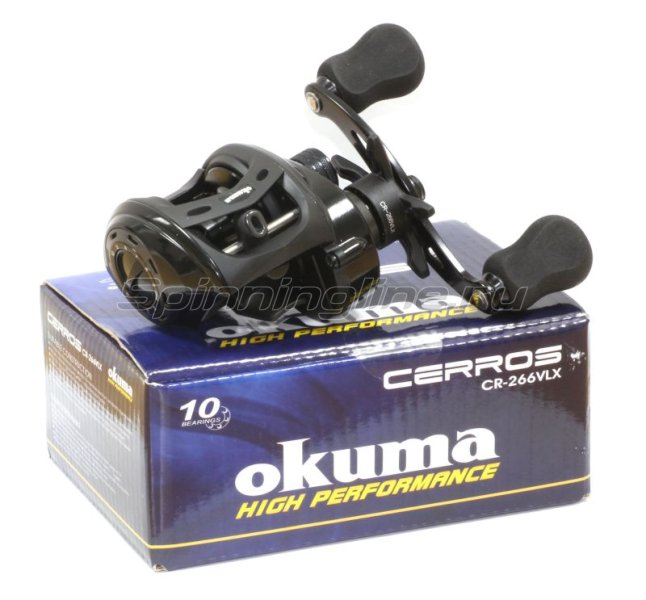 Okuma - Катушка Cerros LP 266VLX - фотография 5