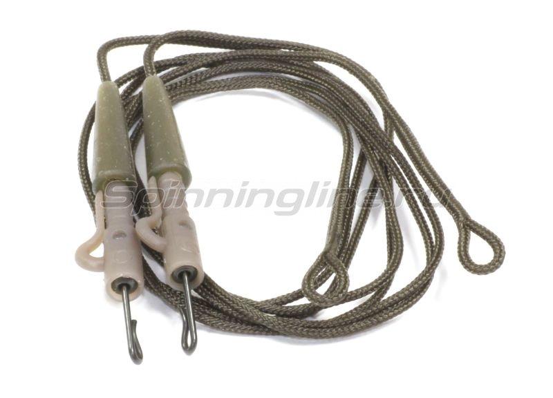 Carpe Diem - Противозакручиватель оснащенный Safety Clips Rig Leadcre 45lb 60см brown - фотография 1