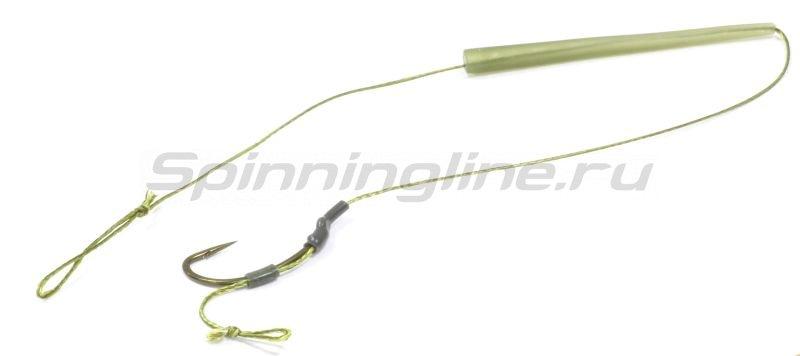 Поводок Carpe Diem Trickster Heavy 25lb 20см №6 green widw gape talon tip -  1