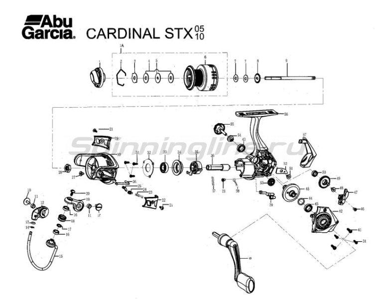 Abu Garcia - Катушка Cardinal STX 10 FD - фотография 9