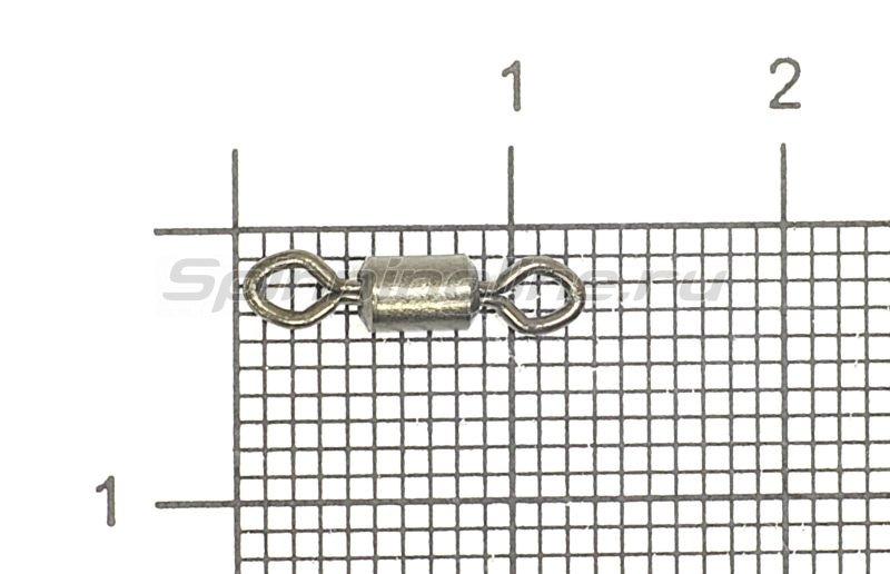 Вертлюг Rolling Swivel Diamond Eye new black №6 -  1