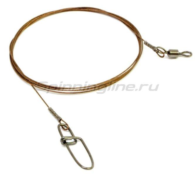 Поводок Wire Innovation 7х7 AFW 18кг 80см -  2