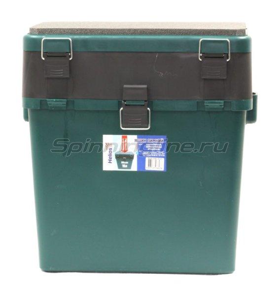 Ящик рыболовный зимний Helios зеленый -  1