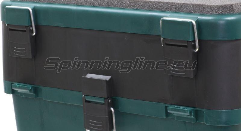 Ящик рыболовный зимний Helios зеленый -  2