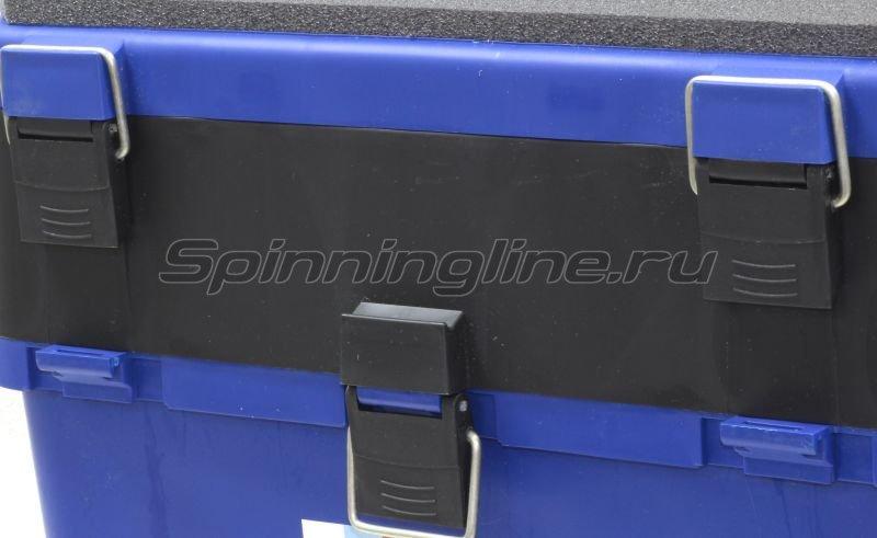 Тонар - Ящик рыболовный зимний Helios синий - фотография 2