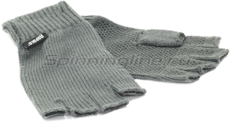 Rapala - Перчатки вязанные Varanger Half Finger L - фотография 1