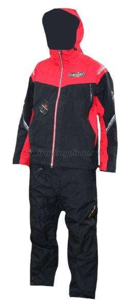 Костюм Shimano DS Rain Suit RA118N XXXL красный -  1