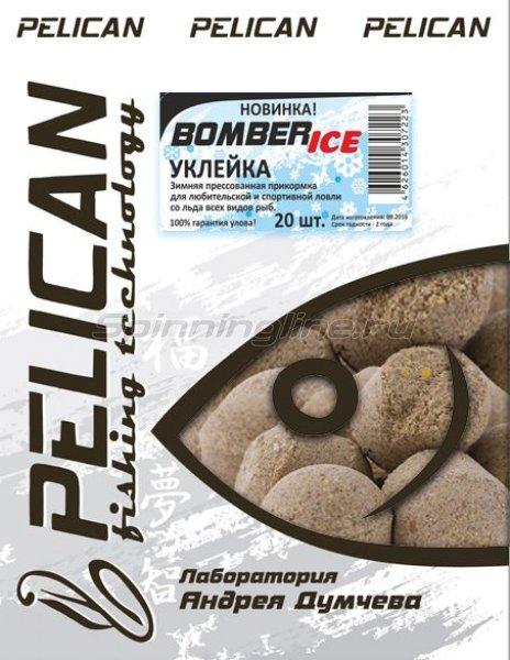 Прикормка Bomber-Ice Уклейка -  1
