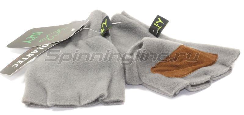 Перчатки полартек P2 без пальцев L -  1