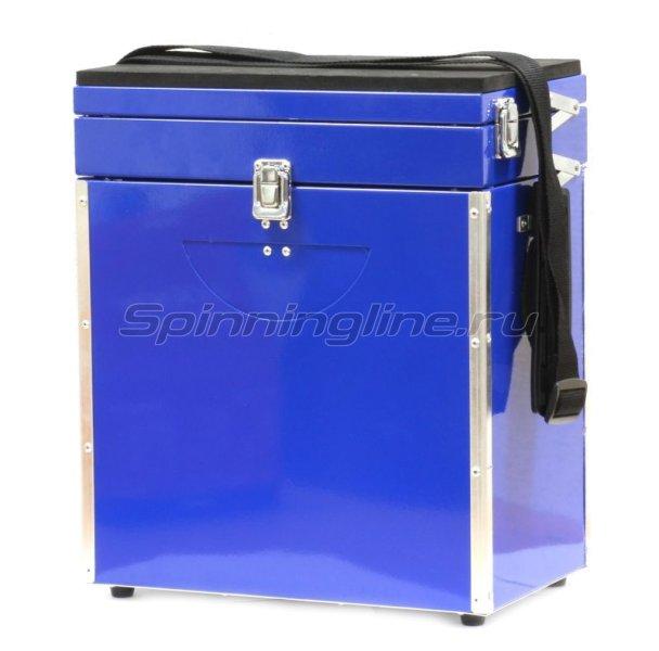 Akara - Зимний ящик синий 30х35х20 малый - фотография 1