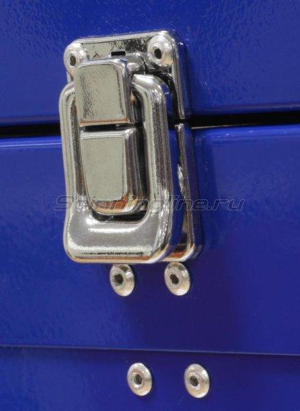 Akara - Зимний ящик синий 30х35х20 малый - фотография 2