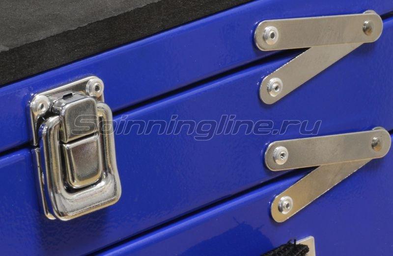 Akara - Зимний ящик синий 30х35х20 малый - фотография 4