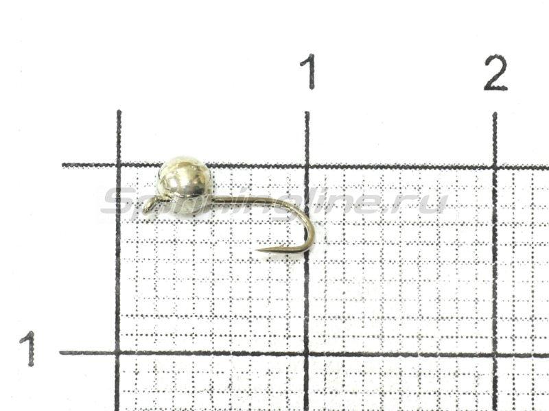 Nautilus - Мормышка Дробинка с ушком d3 001 серебро - фотография 1