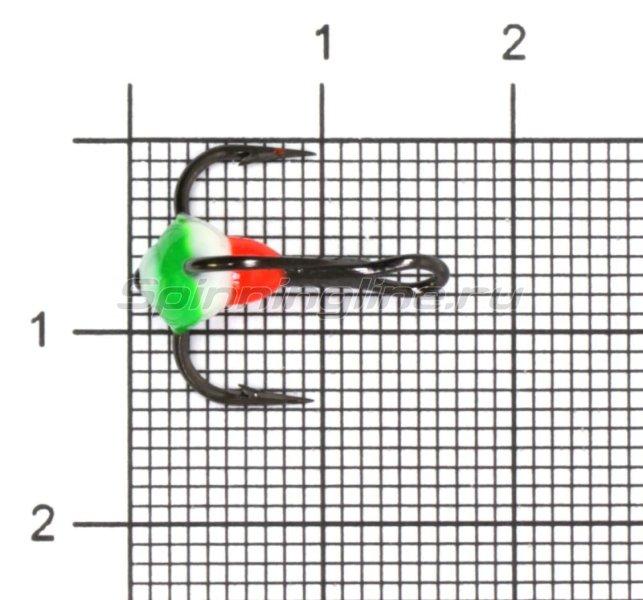 Тройник для приманок LJ с каплей 08/YRF -  1