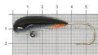 Мормышка Fish Gold судаковая Уралка Светлячок кр. Gamakatsu 22гр черный