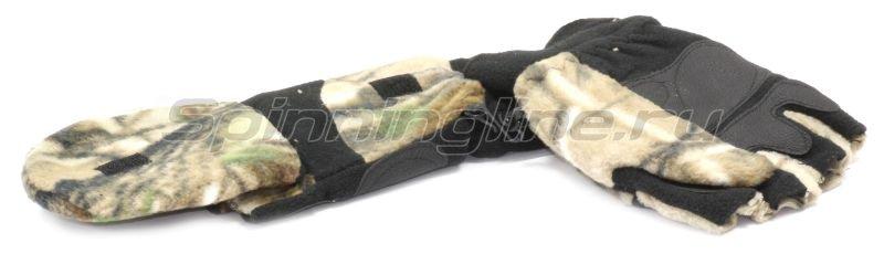 Перчатки-варежки флис КМ XL Realtree AP -  1