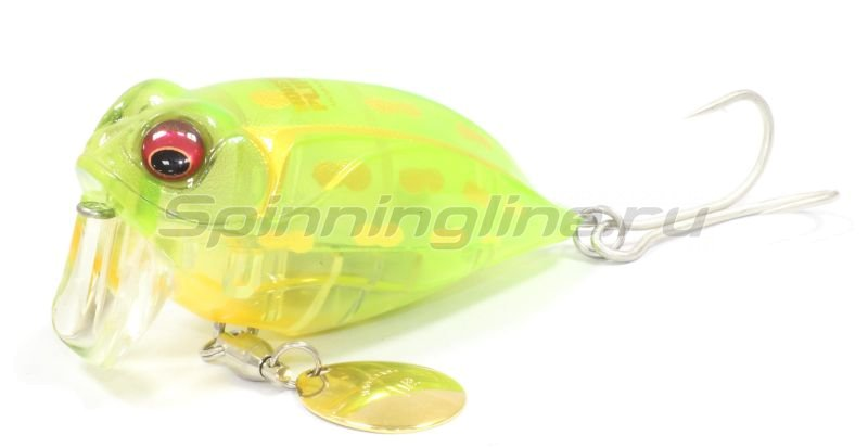 Megabass - ������ Noisy Cat Flipper crystal lime frog - ���������� 1