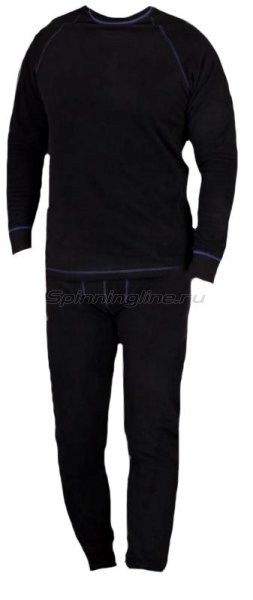 Woodland - Термобелье ThermoLine XL черный - фотография 1