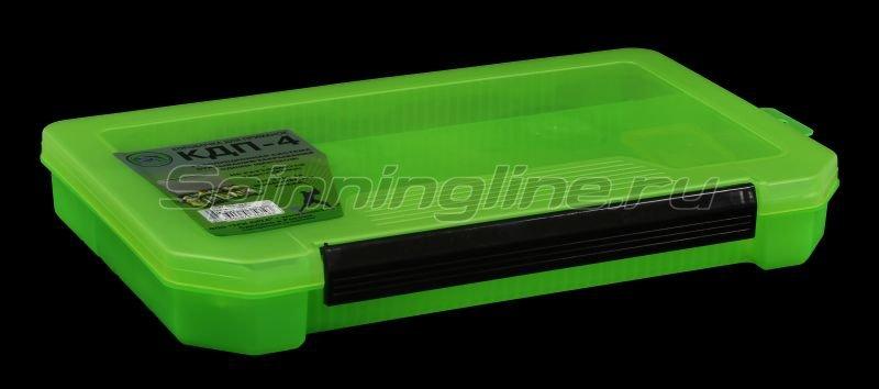 Коробка Три Кита КДП-4 зеленая -  1