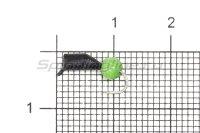 Мормышка Гвоздешарик кошачий глаз d.2.5 зеленый кр.kumho
