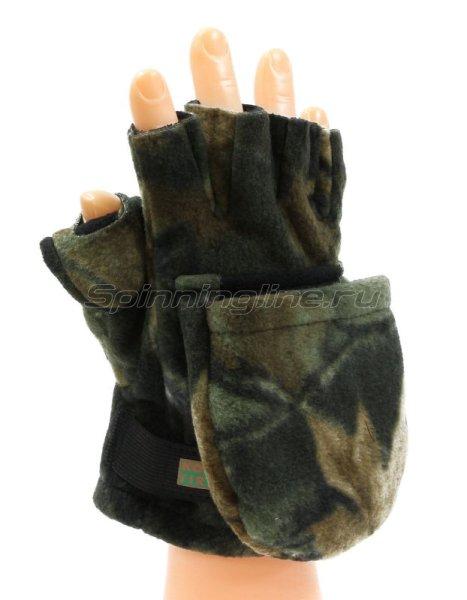 Перчатки-варежки Kosadaka Fire Wind L камуфляж -  1