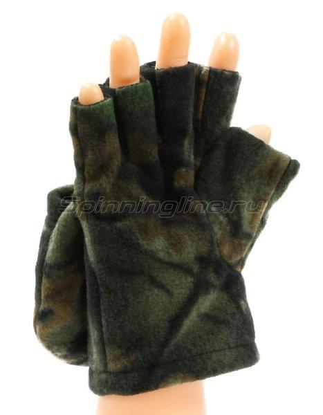 Перчатки-варежки Kosadaka Fire Wind L камуфляж -  2