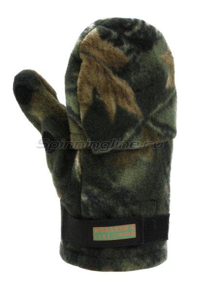 Перчатки-варежки Kosadaka Fire Wind L камуфляж -  3