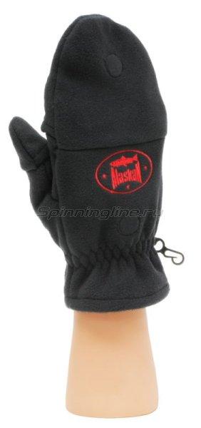 Перчатки-варежки Alaskan Colville Magnet L черные -  4
