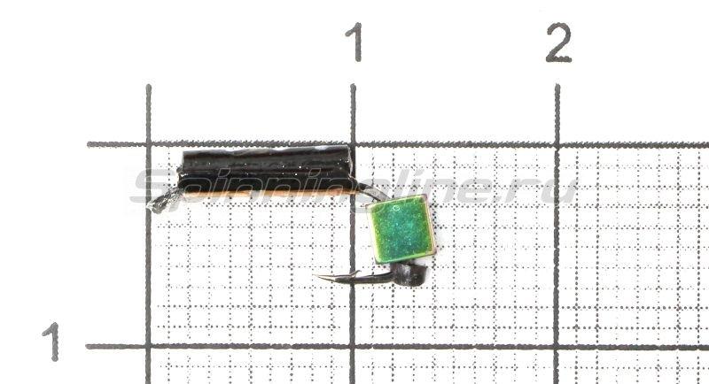 Мормышка Санхар Столбик №2 d1.5 кубик хамелеон, медь -  1