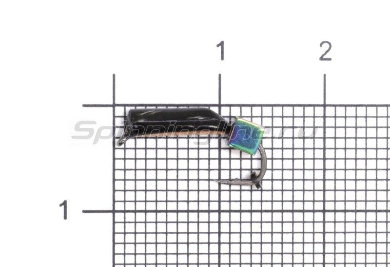 Мормышка Санхар Столбик №5 d2 кубик хамелеон, медь -  1