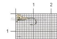 Мормышка Муравей с ушком и лыской d2.5 никель