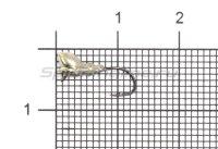 Мормышка Муравей с ушком и лыской d3 никель