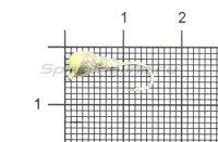Мормышка LumiCom Муравей с ушком d4 серебро с фосфорной каплей