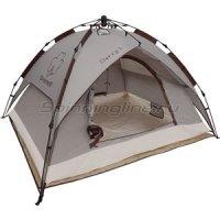Палатка туристическая Дерри 3 коричневая