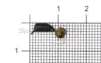 Мормышка Гвоздешарик d2.5 многогранное золото кр.kumho