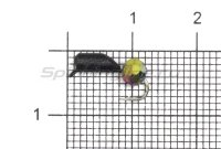 Мормышка Гвоздешарик d2.5 многогранный хамелеон кр.kumho