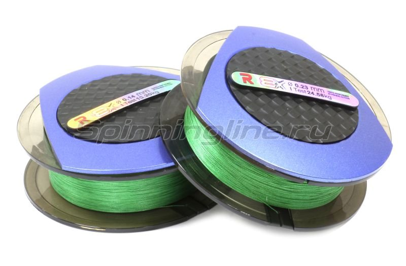 Шнур PE 8 Excia Green 100м 0,12мм -  1