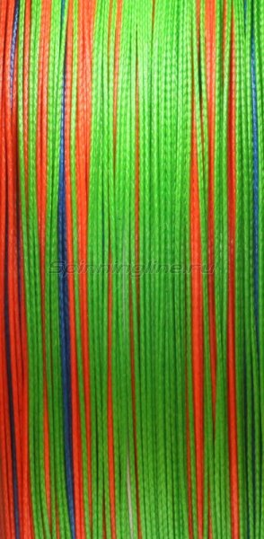 Шнур PE 8 Excia Multicolor 100м 0,20мм -  2