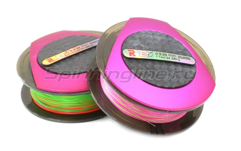 Шнур PE 8 Excia Multicolor 100м 0,37мм -  1