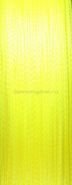 Шнур PE 4 Excia Yellow 100м 0,28мм -  2