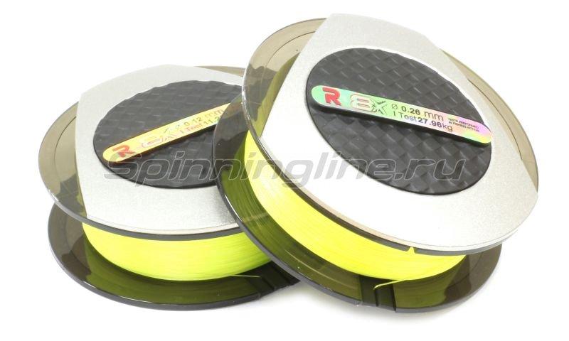 Шнур PE 8 Excia Yellow 100м 0,37мм -  1