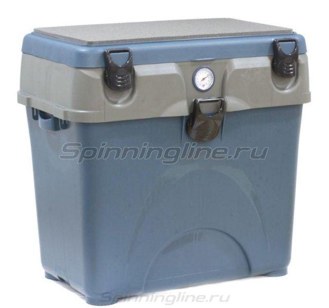 Ящик рыболовный A-Elita Comfort серый/синий -  1