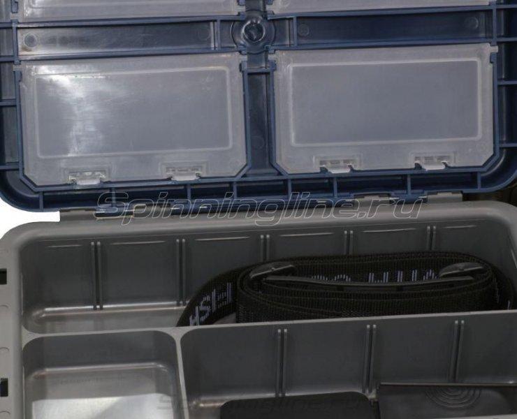 Ящик рыболовный A-Elita Comfort серый/синий -  5