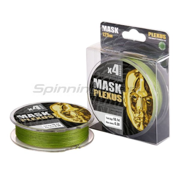 Шнур Mask Plexus 125м 0,10мм green -  1